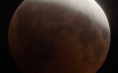 Полутеневое лунное затмение в Овне 19 октября 2013